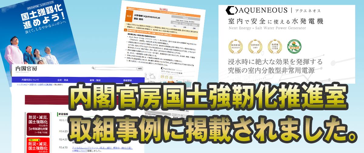 在日本內閣府國家防災振興廳的努力案例中,我們位列第019家公司…